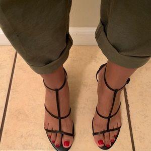Zara strappy heel sandals
